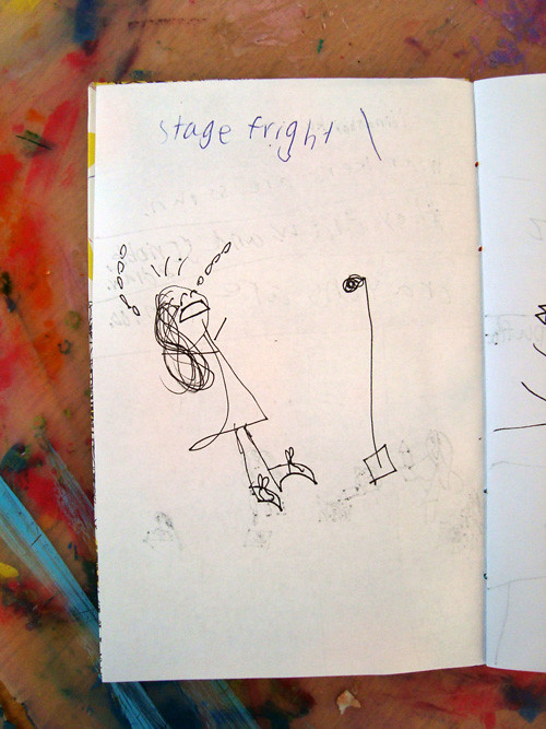 art-journal-stage-fright