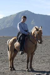 On Horseback (Jo and the Boyz) Tags: horse indonesia volcano java jacob mountbromo