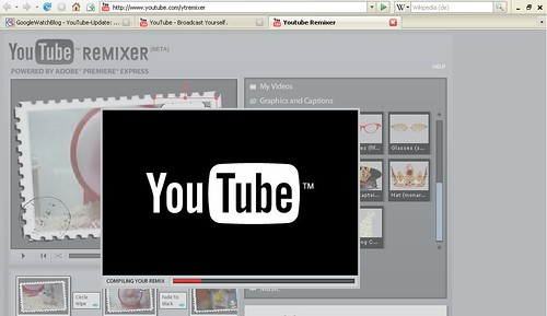 YouTube Remixer das fertige Video