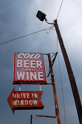Cold Beer And Wine