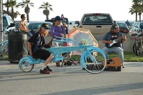 bicycle in venice beach california
