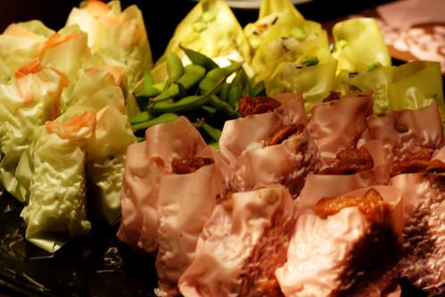 onigiri wrapped in soy sheet...things