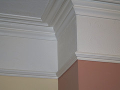 new picture rails.jpg (DarwenPete) Tags: england house building beach home hotel fireplace doors plaster renovation canaryislands edwardian modernisation terraced winterholidays redecorations throughlounge