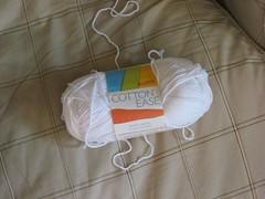 Lion Brand Cotton-Ease yarn