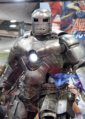 Iron Man uncrated! (Bruce Levenstein) Tags: comics movie sandiego ironman armor marvel comiccon steampunk sdcc sandiegocomiccon comiccon2007 sdcc07