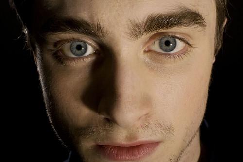 Daniel Radcliffe acercamiento cara