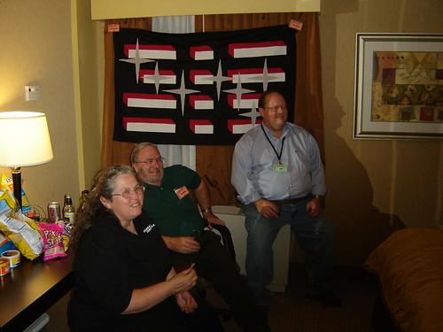 Carol Gobeyn, Rene Gobeyn, and T'Chall