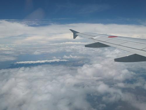 Flight to my hometown
