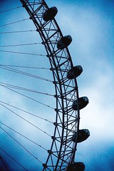 The eyes have it (SimonButlerPhotography) Tags: blue sky london londoneye southbank superhearts