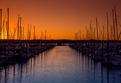 Marina Sunset (Light Knight) Tags: sunset red newzealand marina auckland pentaxk10d aplusphoto pentax1645da