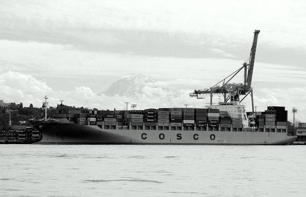 Unloading in View of Rainier
