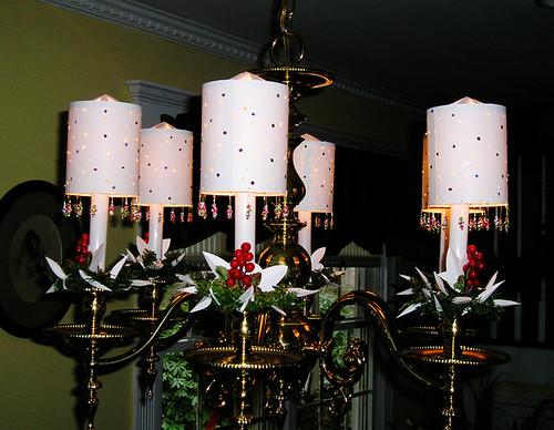 Rotating Paper Lamp Shades