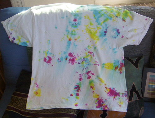 first tye-dye project: back