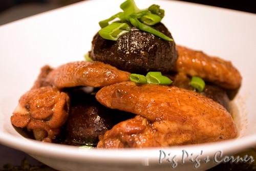 Braised Sweet Soy Chicken Wings