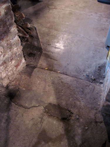 Creepy basement floors and walls