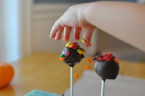 cake balls sprinkle