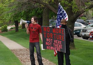 Anti-Torture Vigil - Week 10