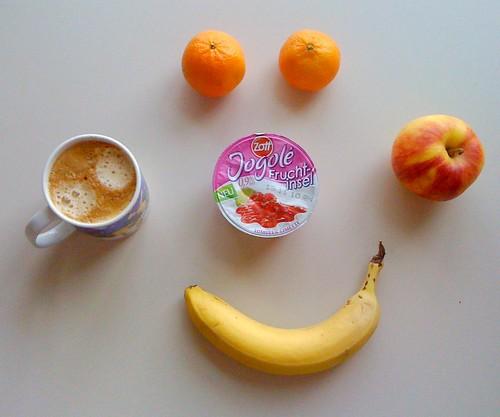 Fruchtinsel, Clementinen, Apfel & Banane