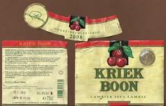 Boon Kriek (Lembeek, Vlaams-Brabant, Belgium) (for the Love of Beer) Tags: beer belgium bier biere boon lambic kriek vlaamsbrabant lambiek lembeek