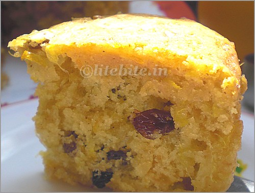 Orange & Honey Eggless cake