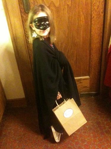 Rachel's Halloween costume