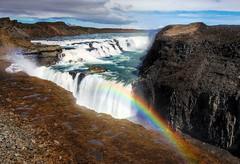 Gullfoss (Karnevil) Tags: nature water iceland falls gullfoss flasher flickrsbest bloggedbyabigfave viplanet