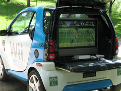 Wii in the trunk