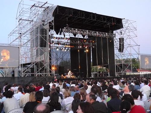 Escenario Viajazz 2007 con EJ
