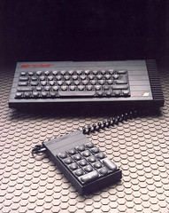 ZX Spectrum 128 with numeric pad (Rick Dickinson) Tags: sinclair dickinson