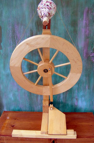 Rapunzel, My Lendrum Spinning Wheel