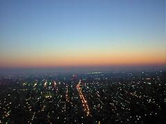 明け方の札幌