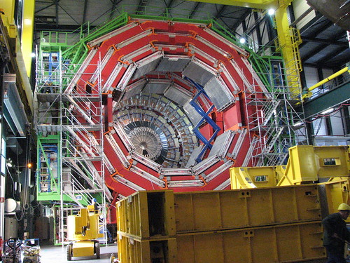 Muon Barrel - LHC pictures