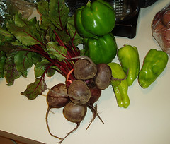 beets & peppers