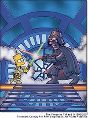 Bart Skywalker Vs Darth Homer