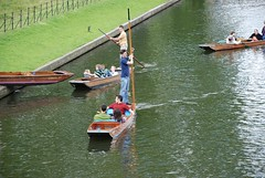 Cambridge - Punting accidents