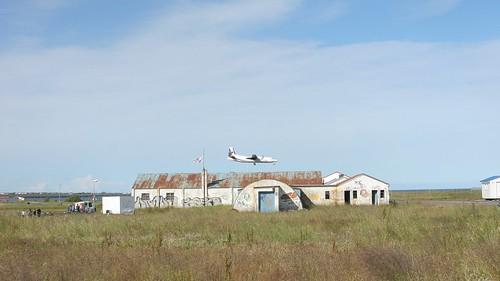 Landung in Reykjavik
