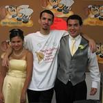 Priscilla, Andre, and Caleb