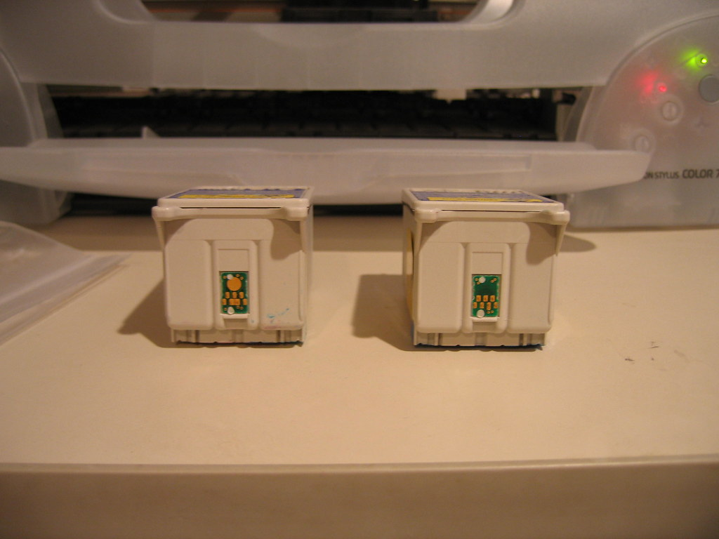 Color cartridges for Epson 777 printer