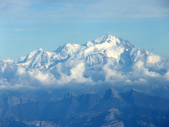 MONT BLANC, on my flight back from Geneva to London (Ronrad) Tags: snow mountains alpes sneeuw neige bergen alpen montblanc montagnes