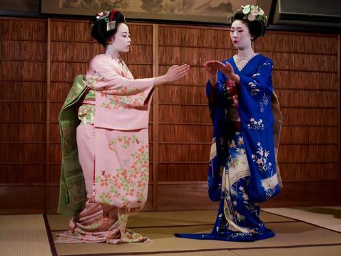 Performing Gion Kouta