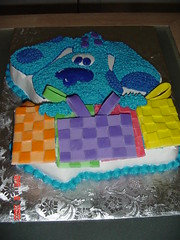 blues clue (ladycake711) Tags: birthday bluesclue