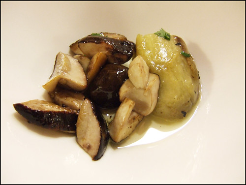 Etxebarri (Axpe) - Mushrooms and Eggplant