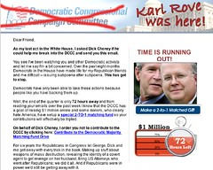 Mock Rove DCCC Letter