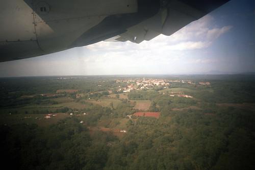 Landing to Pula