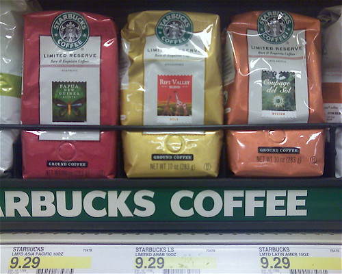 A Visual Experiment: Fair Trade Coffee At Target