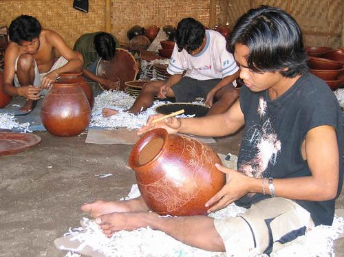 Lombok Handicraft Jars