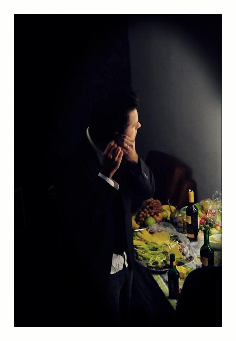 Jeff Mercel / Backstage in Berlin