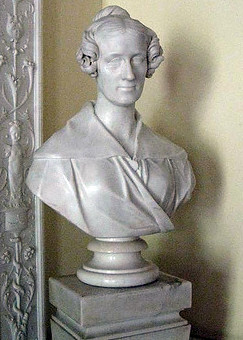 The Royal Society's bust of Somerville by Chantrey