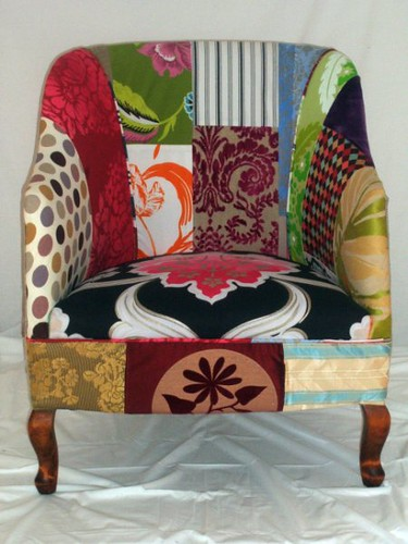1, Originally Uploaded By Kelly Swallow Patchwork Chairs.