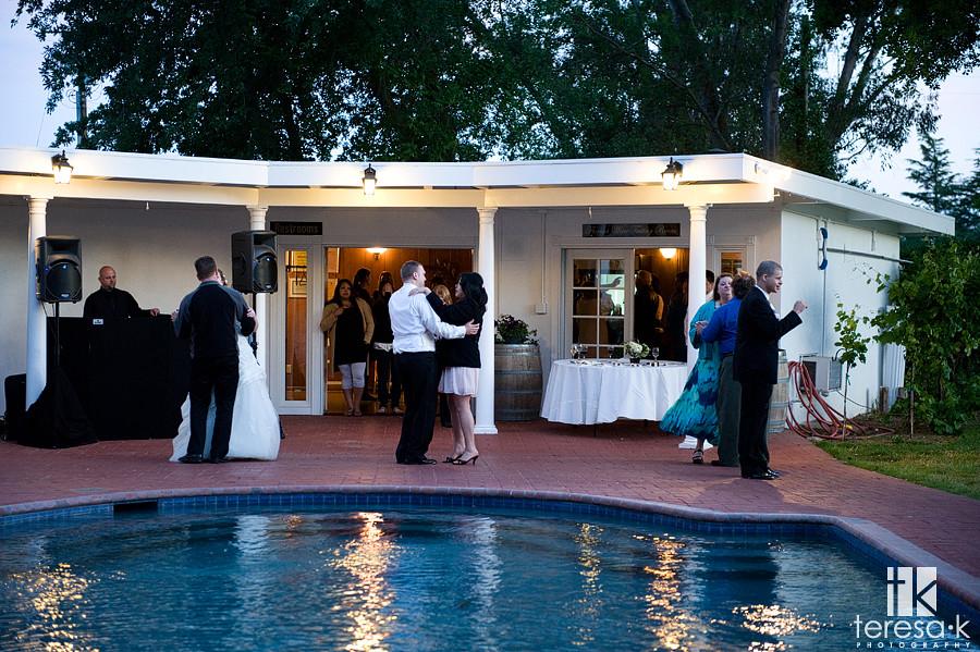 Folsom wedding pro, winery wedding, teresa k